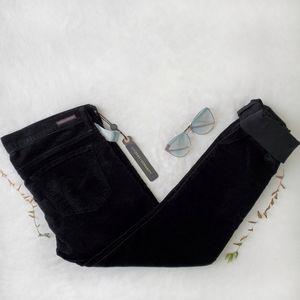 BOGO C of H black velvet low rise skinny jeans 🖤